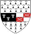 """Kilkenny County Crest"". Licensed under CC BY-SA 2.5 via Wikimedia Commons - https%3A%2F%2Fcommons.wikimedia.org%2Fwiki%2FFile%3AKilkenny_County_Crest.svg%23%2Fmedia%2FFile%3AKilkenny_County_Crest.svg"